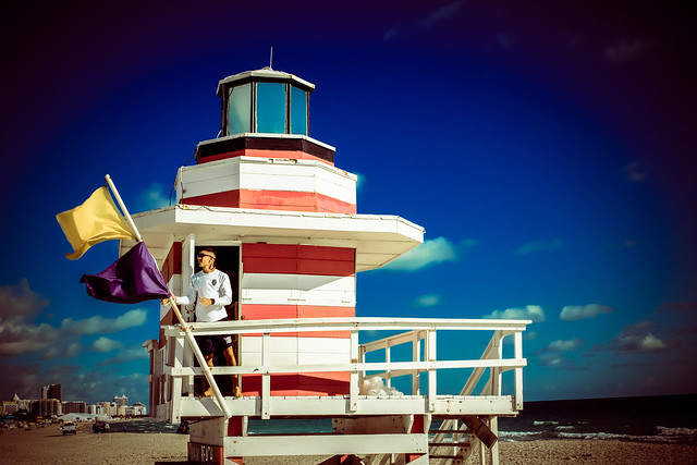 Miami Beach Lifeguard Tower Jetty Lighthouse (2)