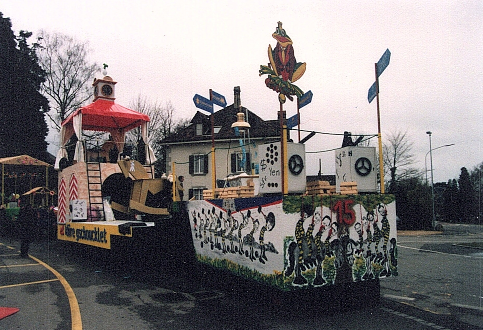 1998 Umzug