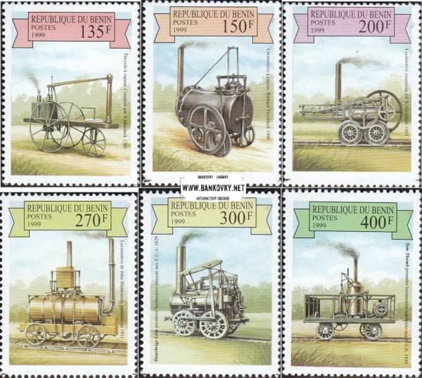 Známky Benin 1998 Parné vozidlá a lokomotívy nerazítkovaná séria