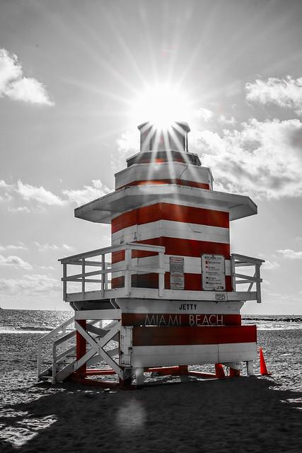 Miami Beach Lifeguard Tower Jetty Lighthouse (1)