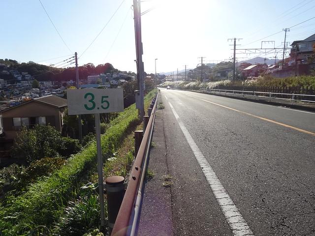 真鶴道路「有料道路前踏切」 (2)