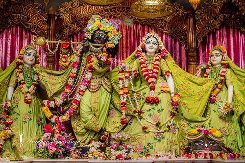 ISKCON Mayapur Deity Darshan 09 Jan 2020