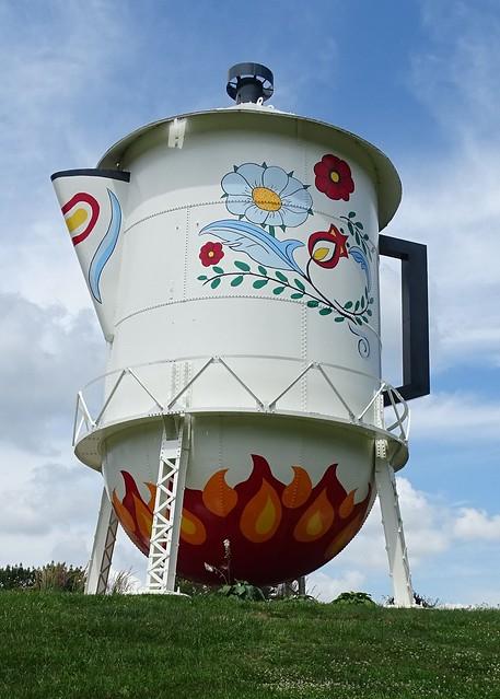 IA, Stanton-Coffee Pot Water Tower