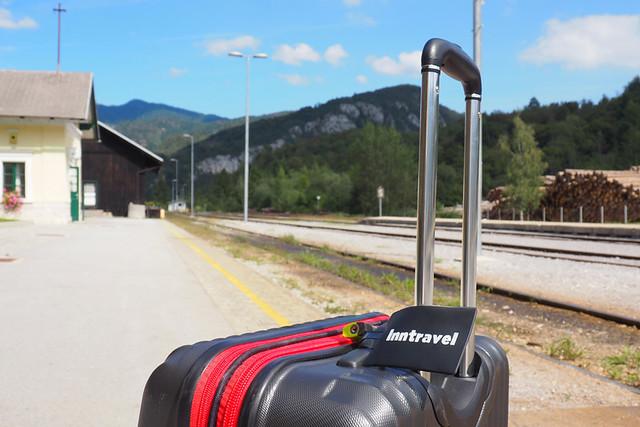 Bohinsjka Bistrica train station, Slovenia