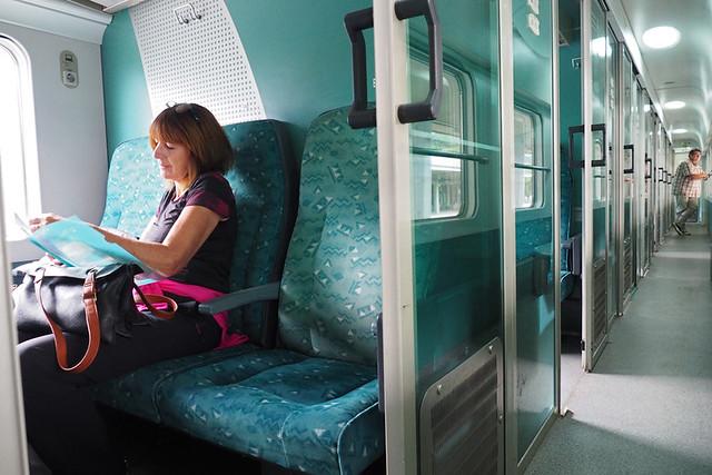 Train to Ljubljana