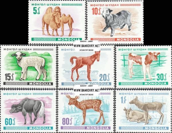 Známky Mongolsko 1968 Zvieratá