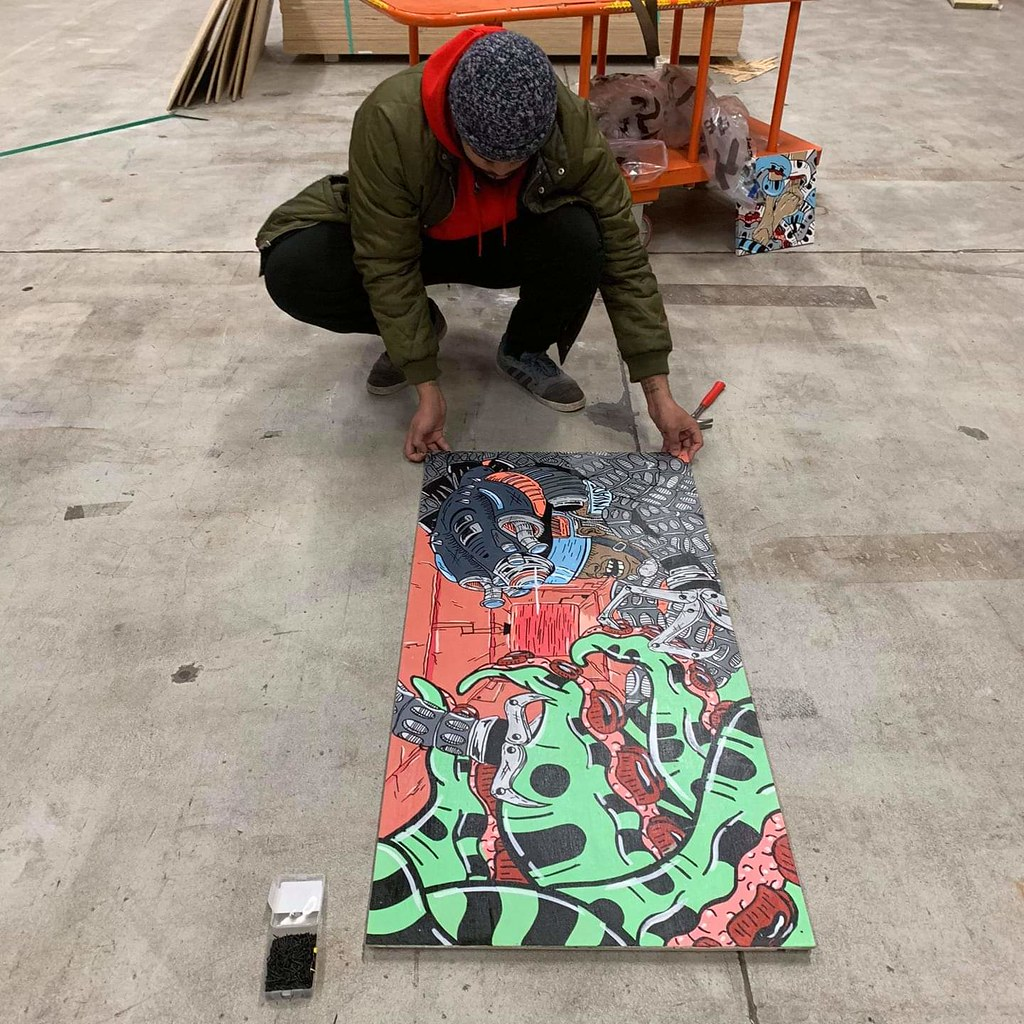 AiseLife's Temporary Mural Portfolio