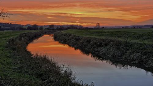 newenden river riverrother sunset nikond700