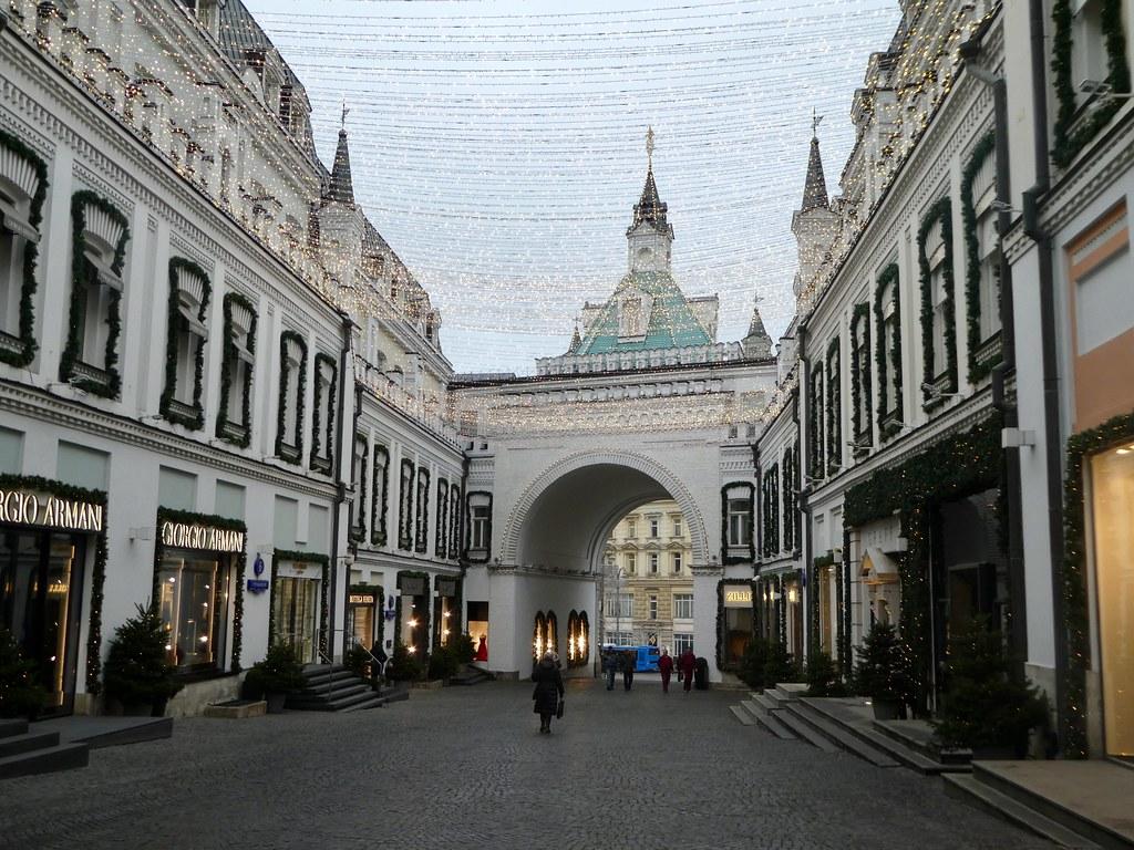 Tretyakovsky Passage, Moscow