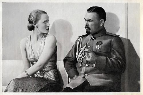 Brigitte Helm and Oskar Homolka in Im Geheimdienst (1931)