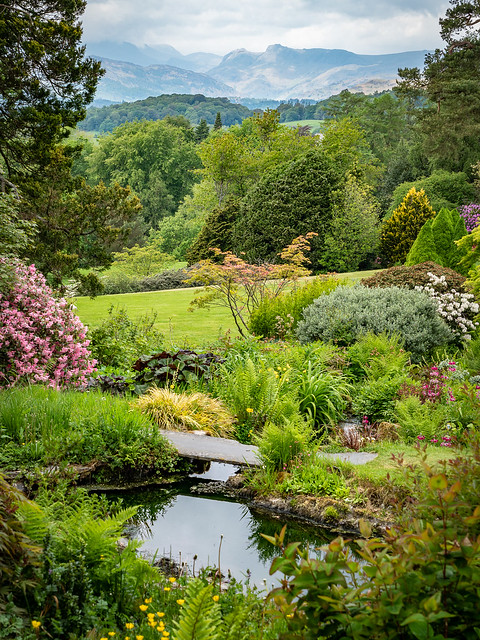 Holehird Gardens, Troutbeck Bridge, Lake District