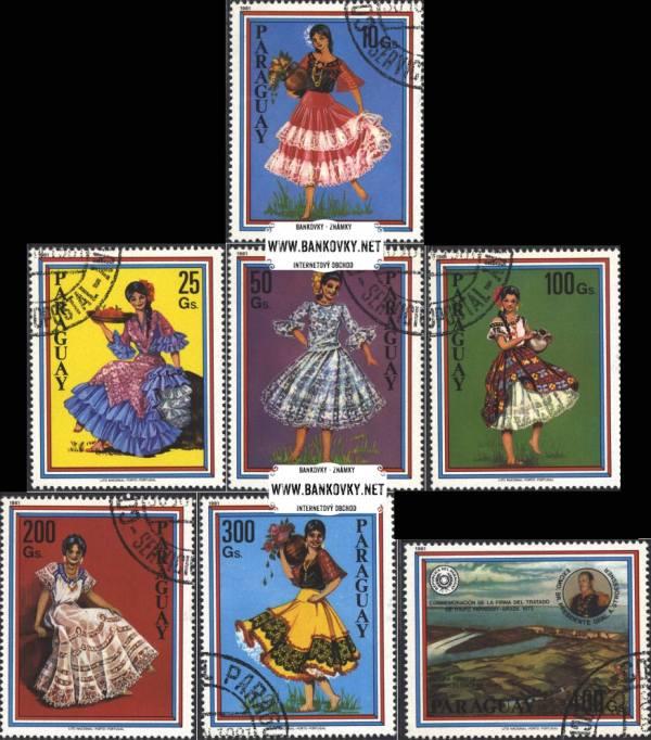Známky Paraguaj 1981 Ženské kostými