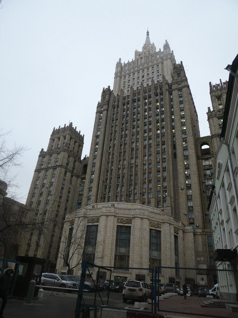 The Ministry of Foreign Affairs, Moscow