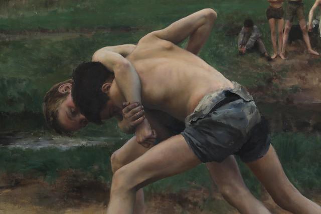 La lutte (1889)
