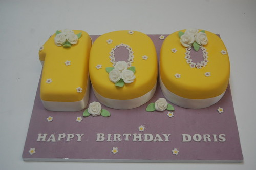 Awesome Doris 100Th Birthday Cake Beautiful Birthday Cakes Birthday Cards Printable Riciscafe Filternl