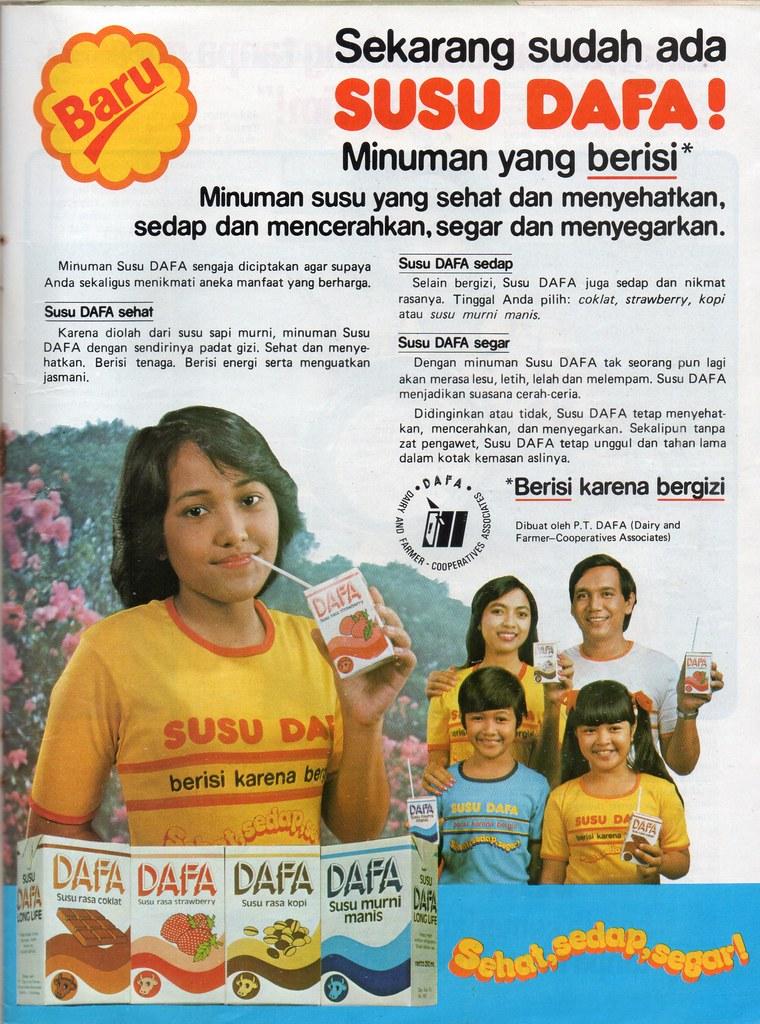 Susu DAFA - Femina, 16 November 1982