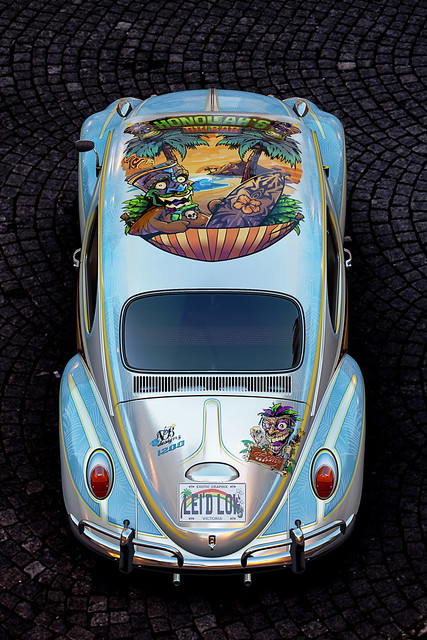 VW Beetle Lei'd Low Exotic Graphix