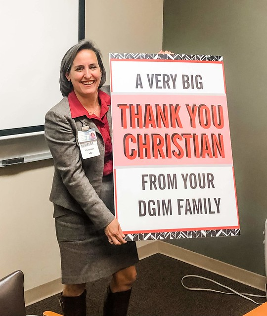 2020 Reception for Dr. Christian Furman