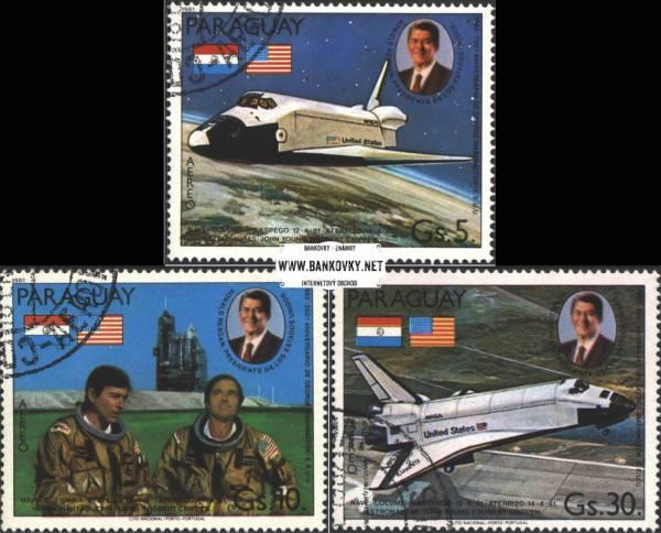 Známky Paraguaj 1981 Raketoplán
