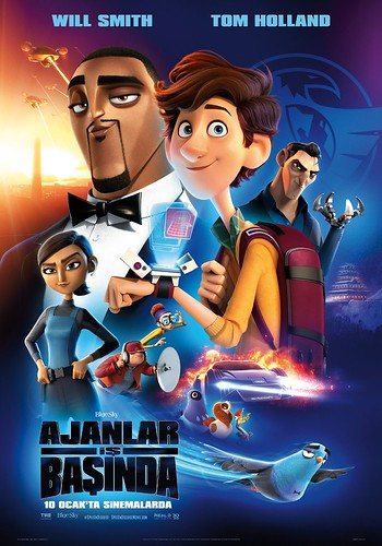 Ajanlar İş Başında - Spies in Disguise (2020)