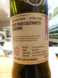 SMWS 44.118 - Get your castanets clacking