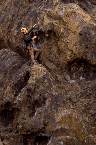 Climbers at Sawtooth Canyon Campground