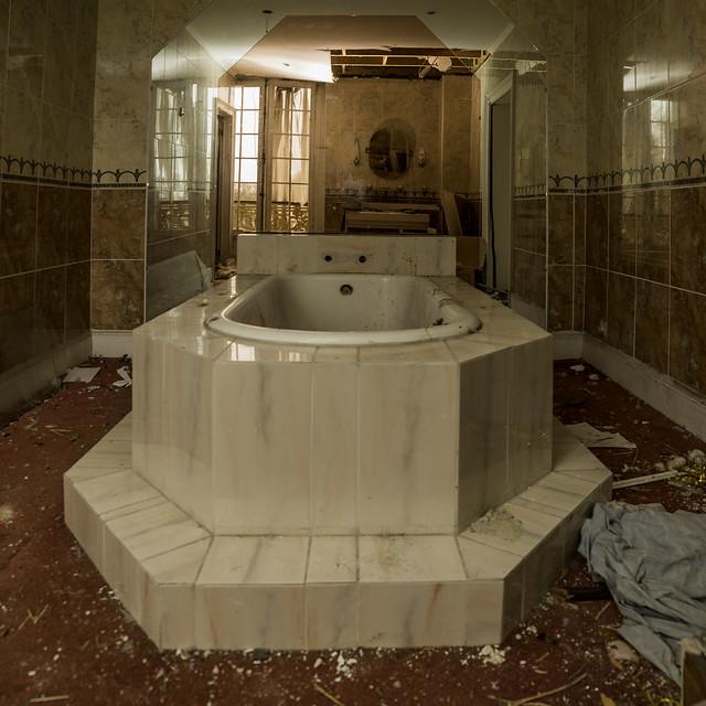 Le grand bain.