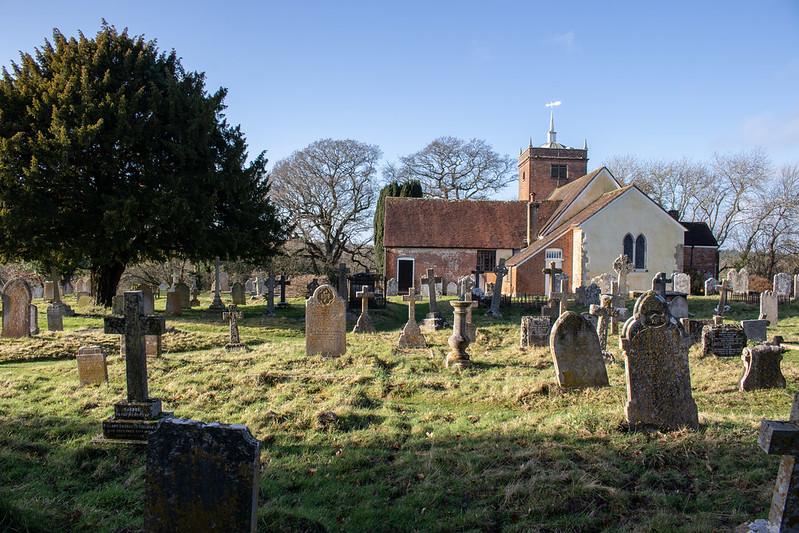 Minstead Churchyard 4
