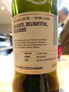 SMWS 26.135 - Delicate, delightful, delicious