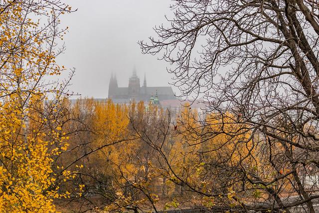 Foggy Prauge Castle