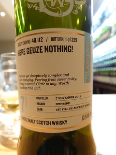 SMWS 48.112 - Here gueze nothing!