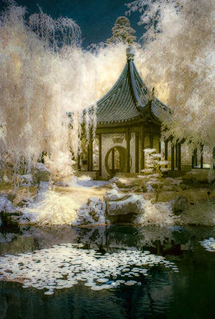Garden Pavilion - Textured IR
