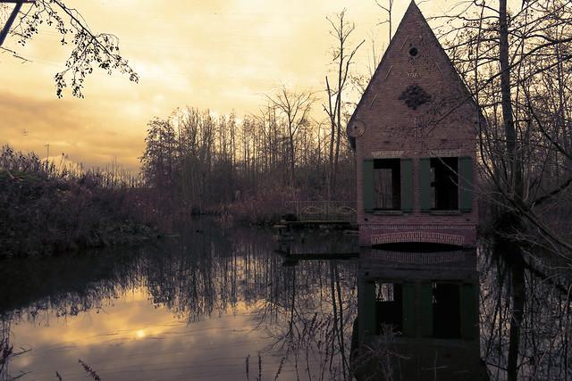 'Karperhuisje' - polder Rupelmonde - Belgium