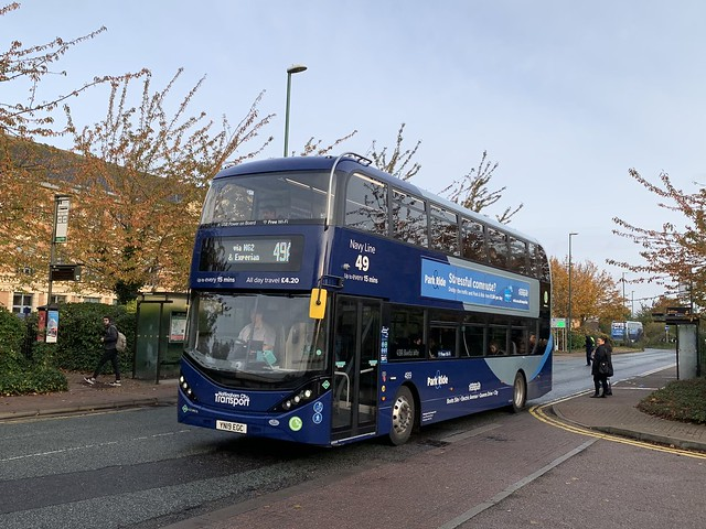 Nottingham City Transport 489 Scania N280UD/ADL Enviro 400 City YN19EGC