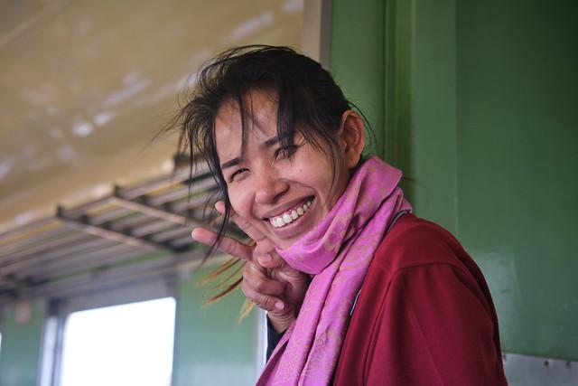Kanchanaburi Train Smiles