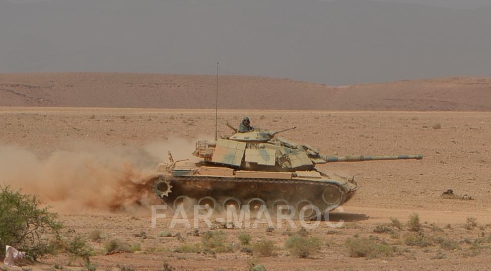 M60 Patton dans les FAR / Moroccan Army M60 Patton - Page 15 49357770863_7b4dcfec8f_o