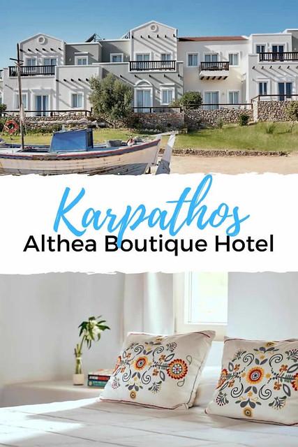 Althea Boutique Hotel, Karpathos | Leuk hotel op Karpathos? Het Althea Boutique Hotel in Amoopi