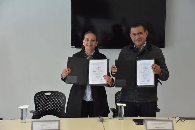 Firma de Convenio Ayuntamiento de Tlajomulco y CESLAM