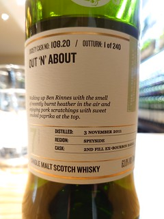 SMWS 108.20 - Out'n'about