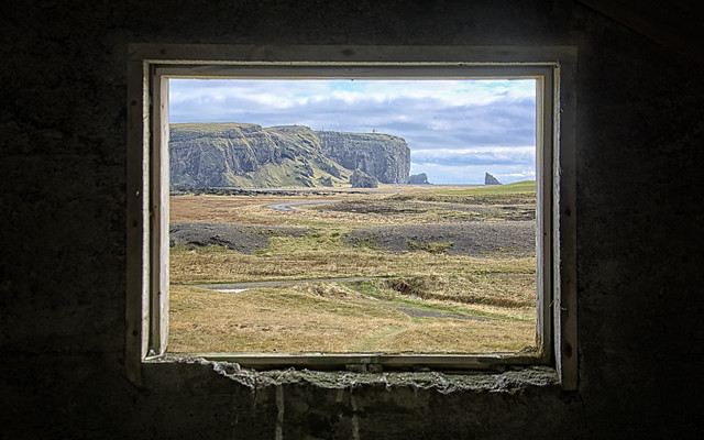 peeping through the secret window