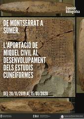 De Montserrat a Súmer. L'aportació de Miquel Civil al desenvolupament dels estudis cuneïformes