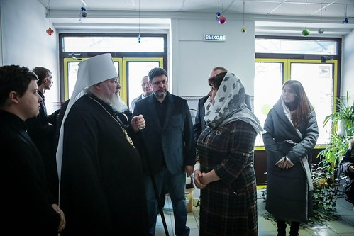 09 января 2020, Митрополит Кирилл посетил Ипатовский детский дом-интернат для умственно отсталых детей