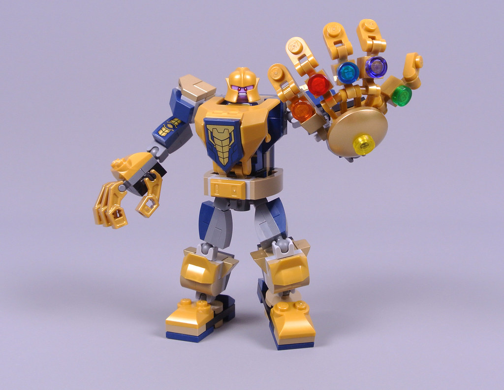 LEGO Marvel Super Heroes 76141 Thanos Mech review
