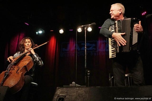 Asja Valcic: cello / Klaus Paier: accordion