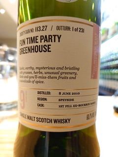 SMWS 113.27 - Fun time party greenhouse