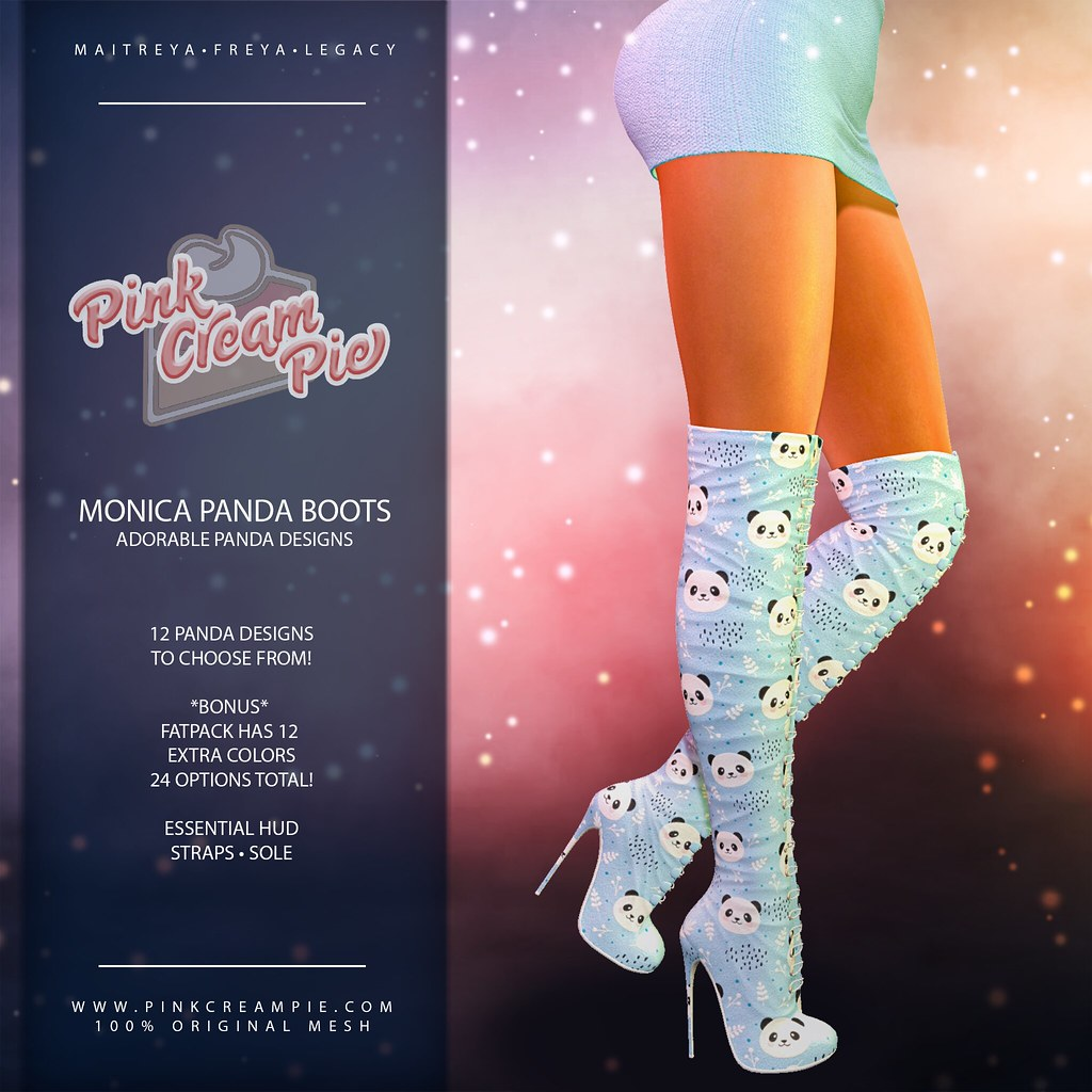 Monica Panda Boots @ Fly Buy Friday!