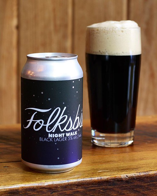 We're getting down to our last bit of Night Walk, our 5% ABV Black Lager step mashed with the finest German malts and delicately hopped with Tettnang. It's supremely clean with an accent of roast character and surely will be missed once it's gone. We'll b