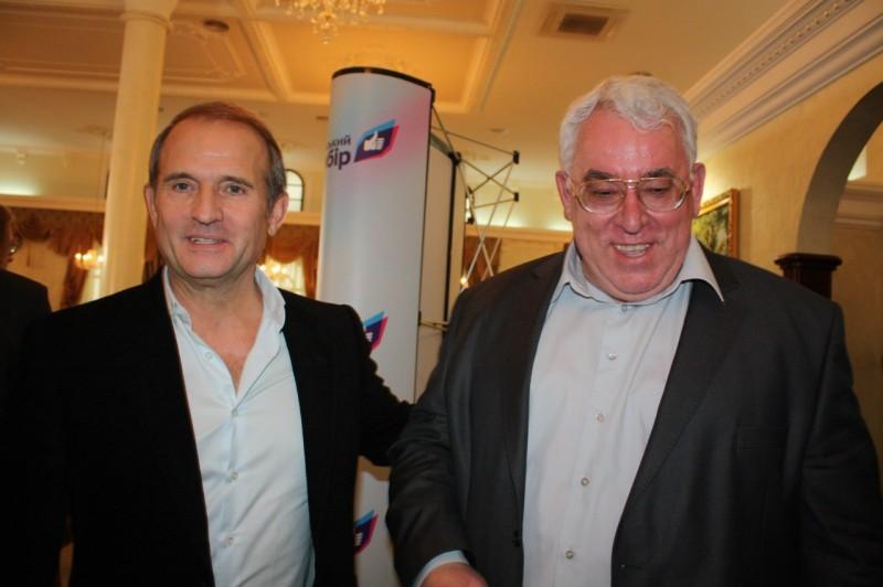 Виктор Медведчук и Николай Песоцкий