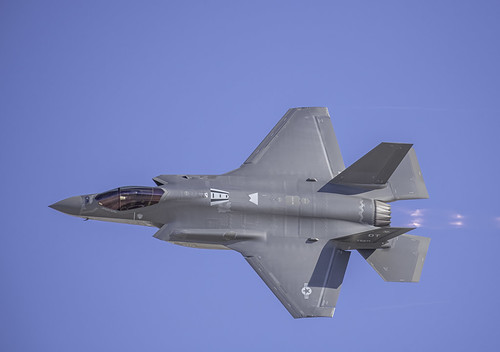 Topside of the F-35A