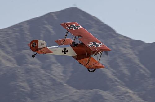 Red Baron Biplane